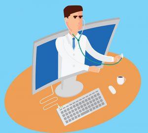 Doctor en  monitor